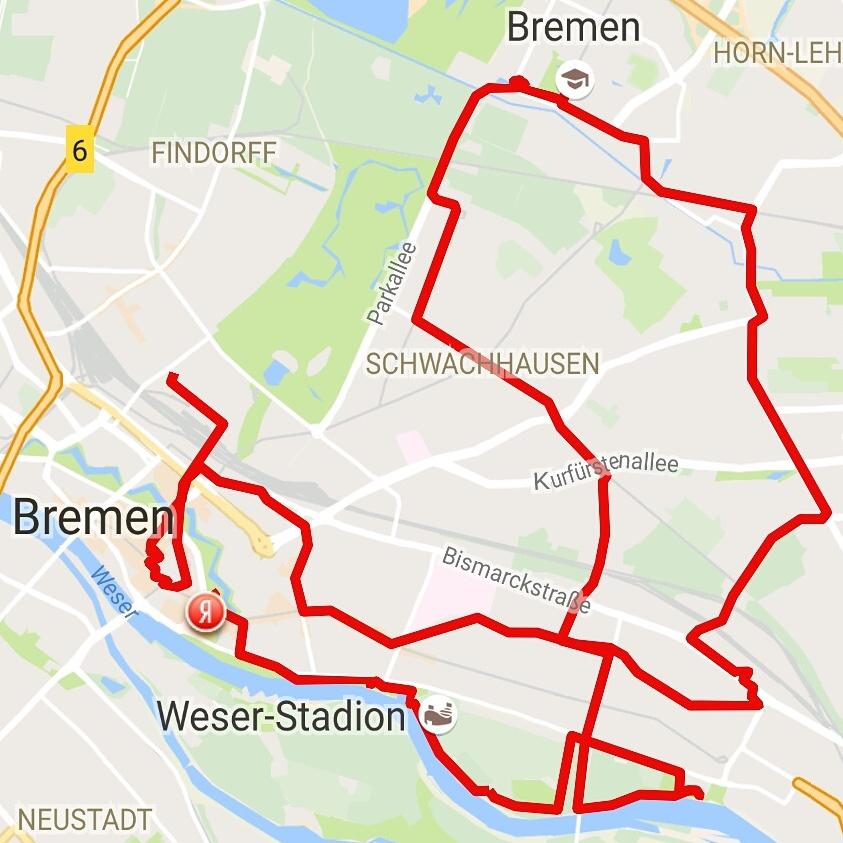 Tour durch Bremen FMHB2016