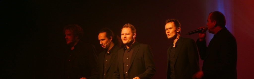 [2009-11-21] Wise Guys in Jena - mit Nils