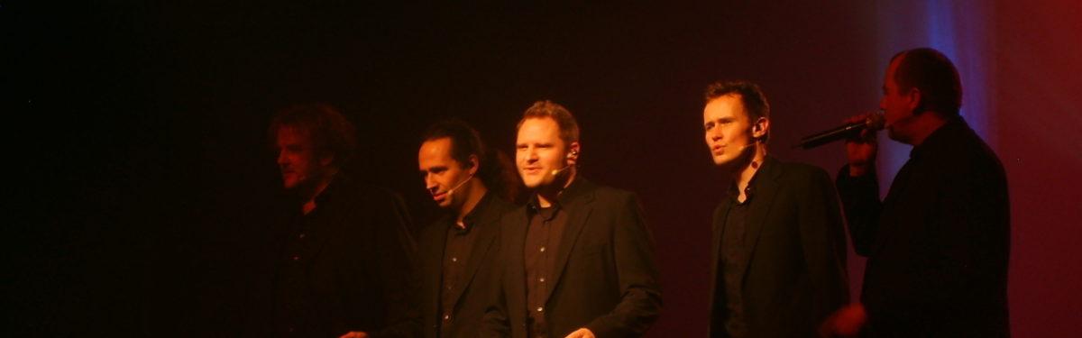 [2009-11-21] Wise Guys in Jena – mit Nils