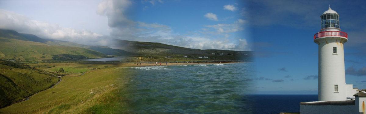 Irland 2006: vom County Clare über Mayo und Sligo bis Donnegal