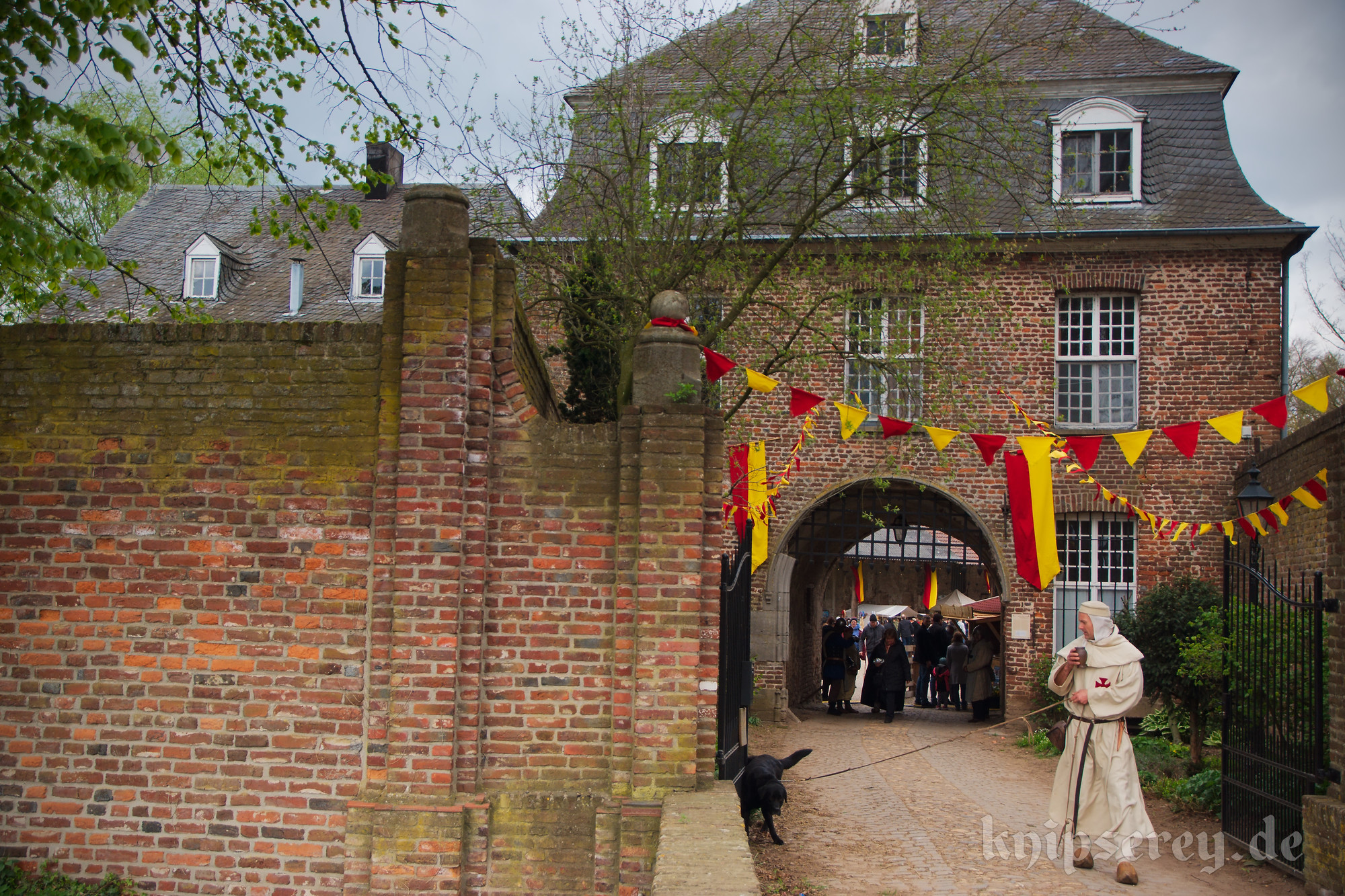2017 04 15 Easter Medieval Market At The Graefenthal Abbey In Goch