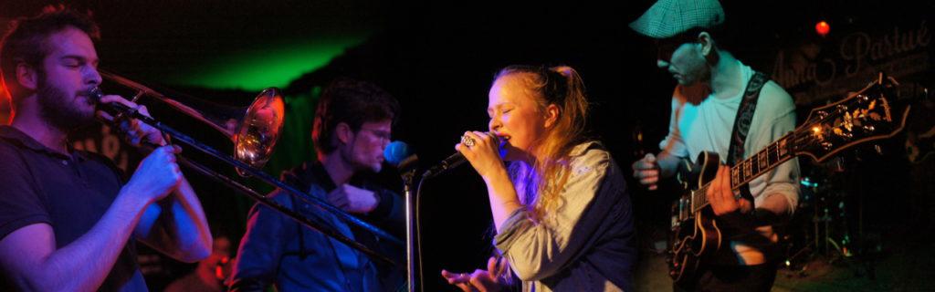 [2015-02-27] Anna Partué & The Soul Age Band im Café Wagner Jena