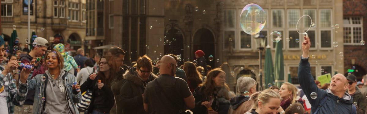 [2018-04-27] 4. Seifenblasen-Flashmob Bremen