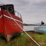 Boote in Roundstone, County Galway, Connemara
