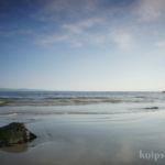 kurze Strand-Pause auf dem Weg nach Galway